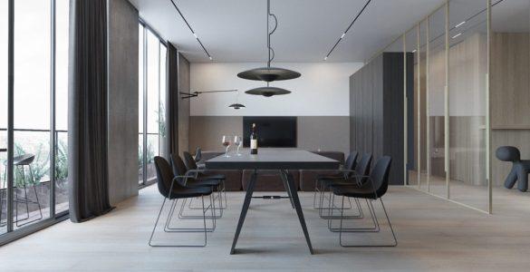 appartement moderne et minimaliste