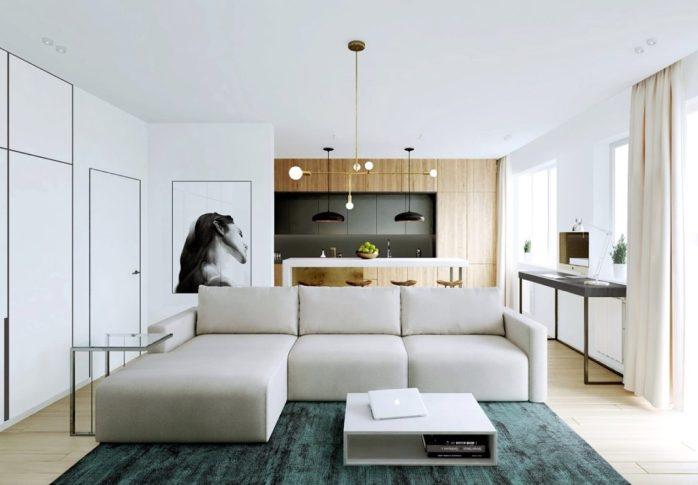 Une décoration relaxante en ouvrant l'espace