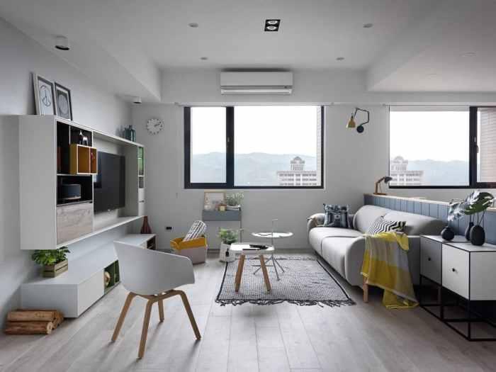 Appartement de style scandinave confort et chic nordique