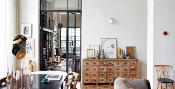 intérieur contemporain moderne