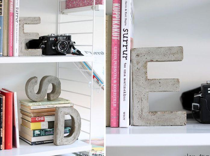 DIY Béton - Soyez créatifs et décalés