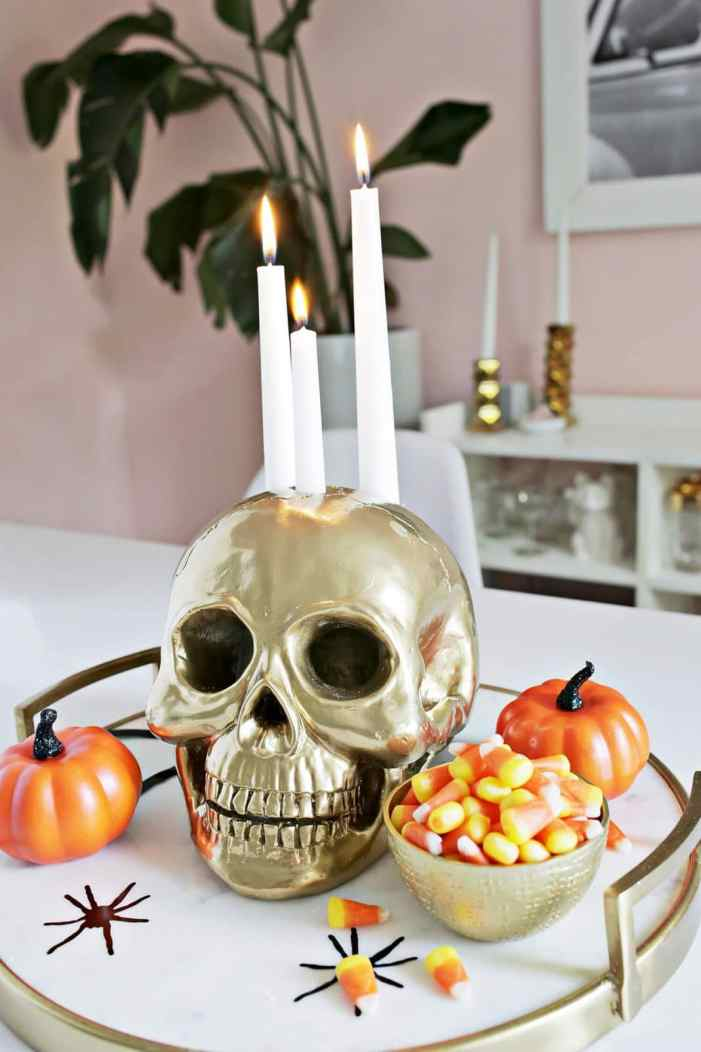 DIY Halloween cane