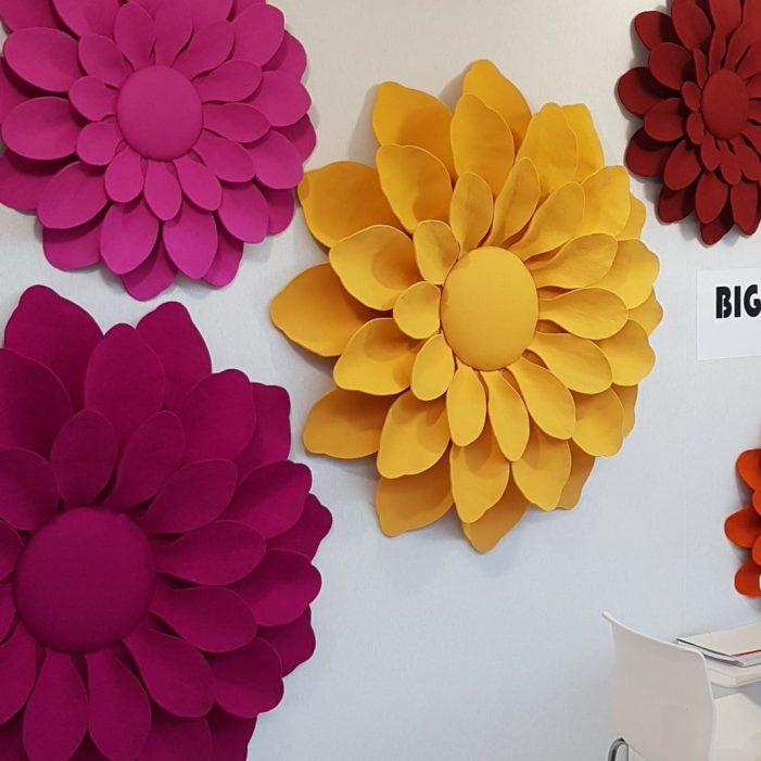 Maison&Objet Janvier 2018 Big Flower d'Emmanuelle M.
