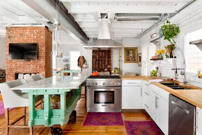Des cuisines très originales