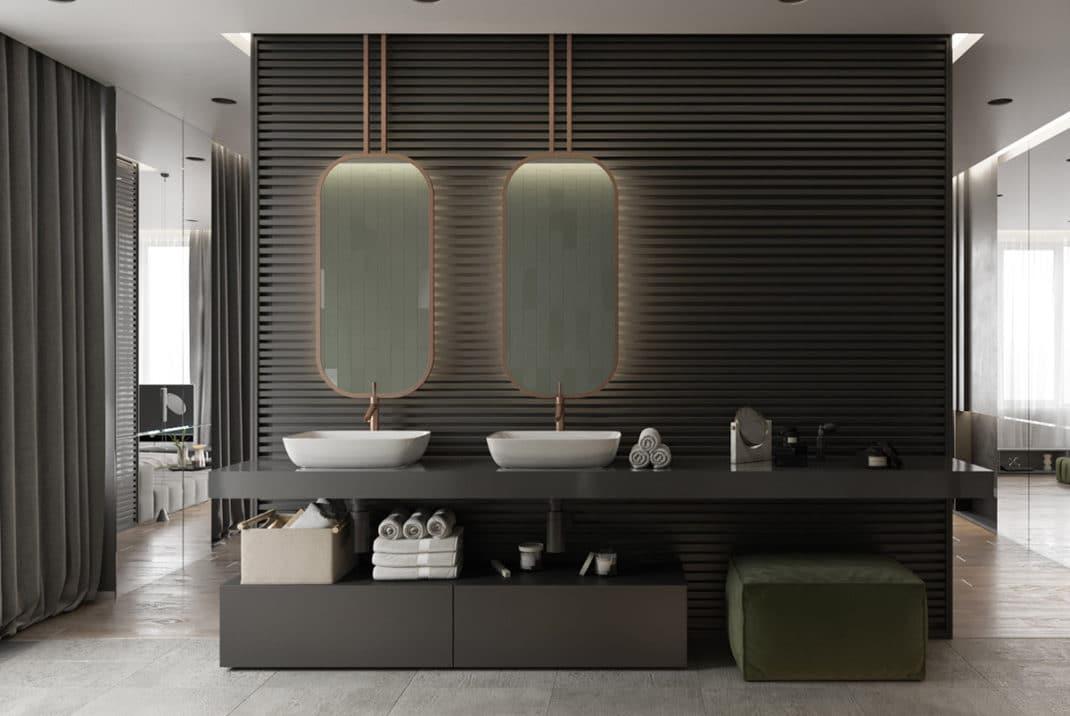 40 idées de salles de bain à double vasques hyper déco !