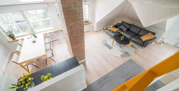Appartement sous les toits