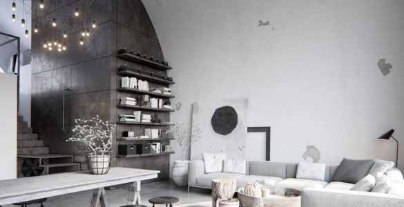 loft rustique moderne de Chicago
