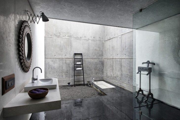 salles de bains de style industriel 16
