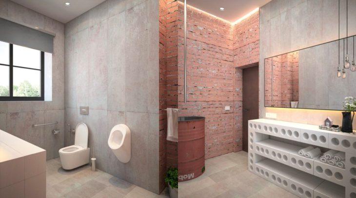salles de bains de style industriel 28
