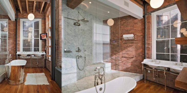 salles de bains de style industriel 29