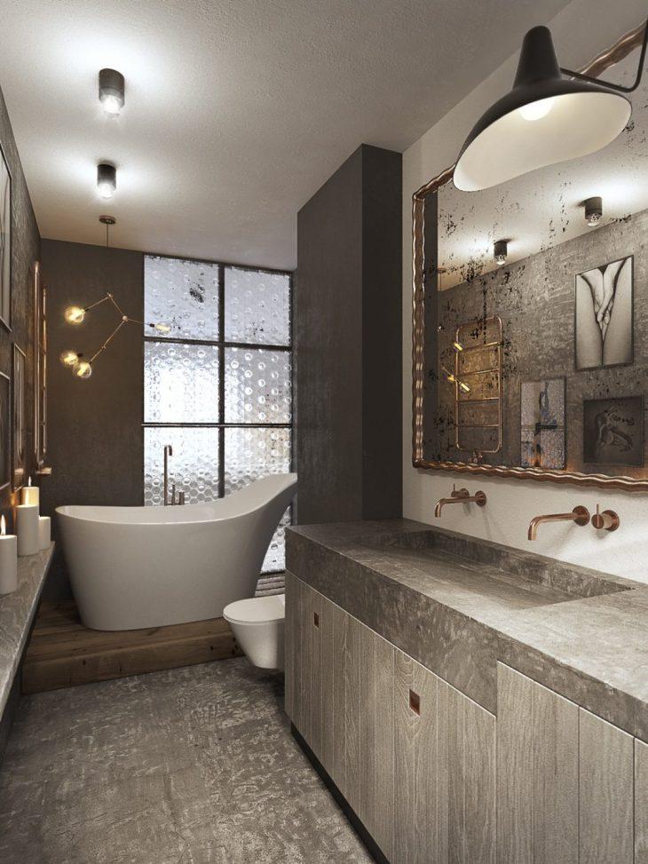 salles de bains de style industriel 30