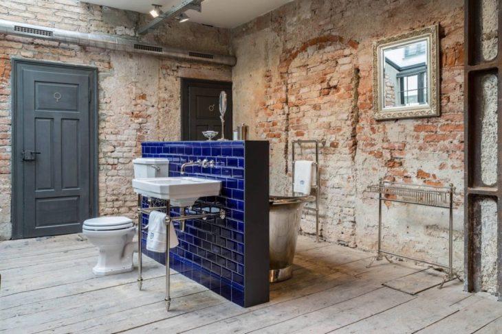 salles de bains de style industriel 35