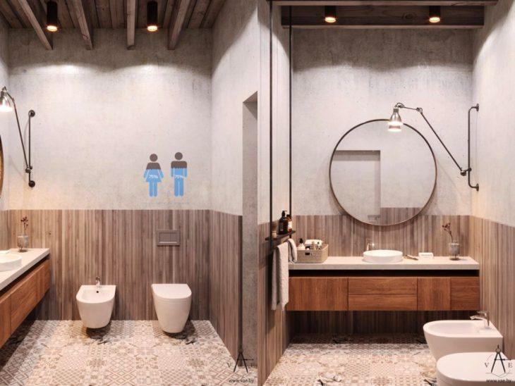 salles de bains de style industriel 41