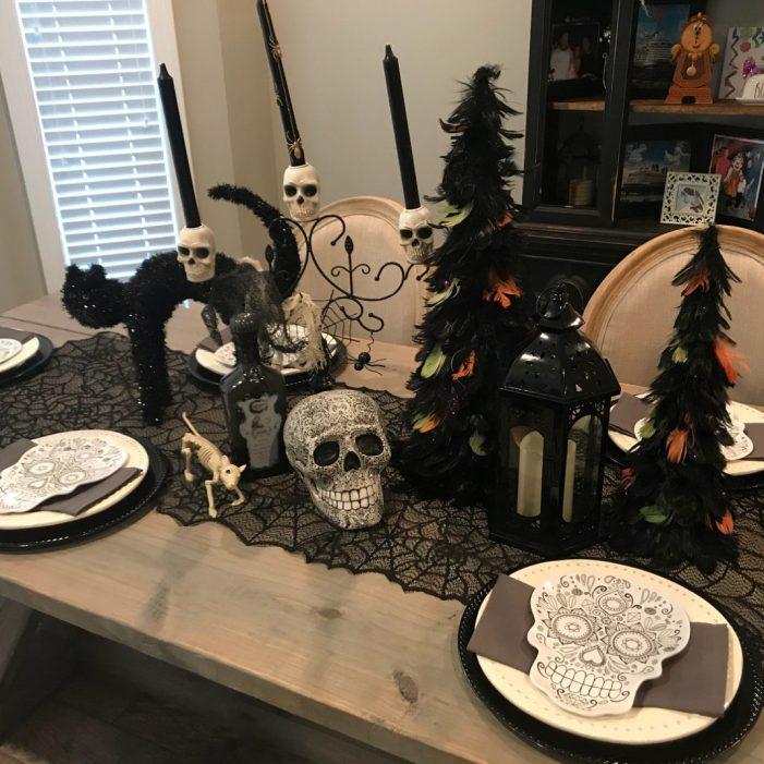 idées de décoration de table d'Halloween 3