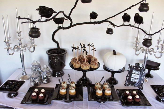 idées de décoration de table d'Halloween 6