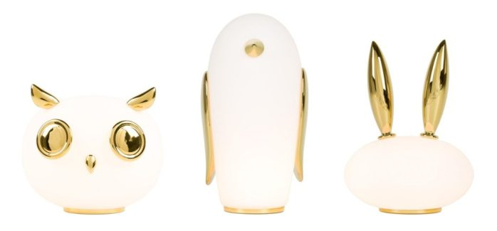 lampe Uhuh Hibou by Marcel Wanders pour Moooi
