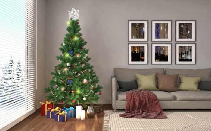 Décorations de sapins de Noëlélégance
