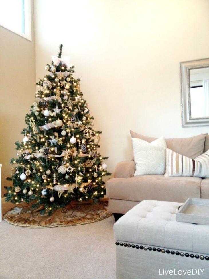 Décorations de sapins de Noëlcontemporain