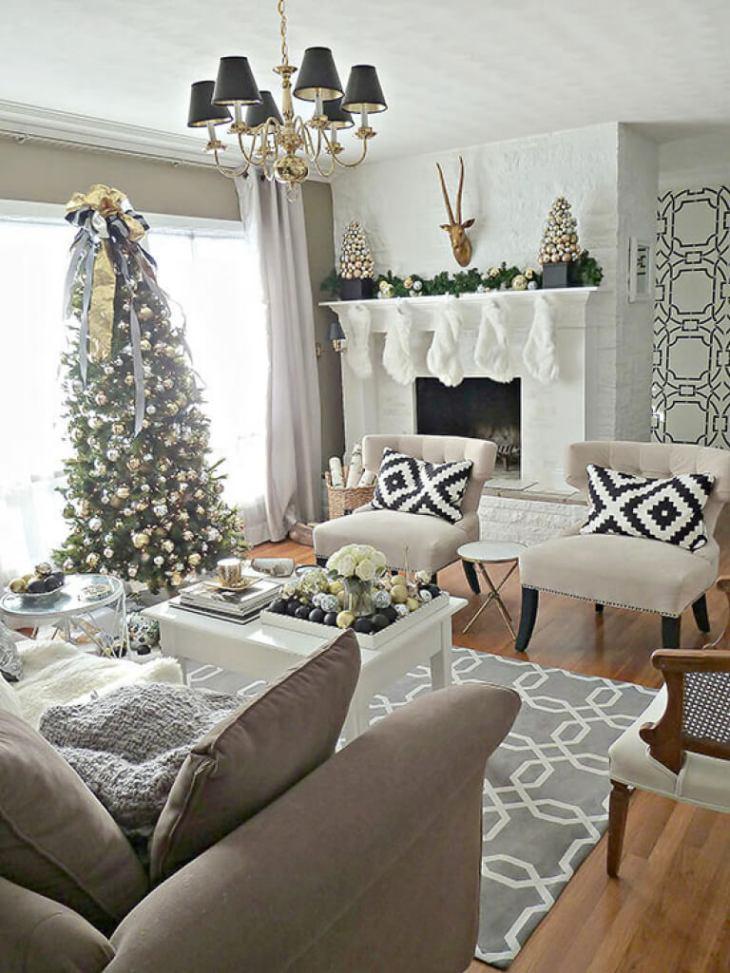 Décorations de sapins de Noëlmoderne