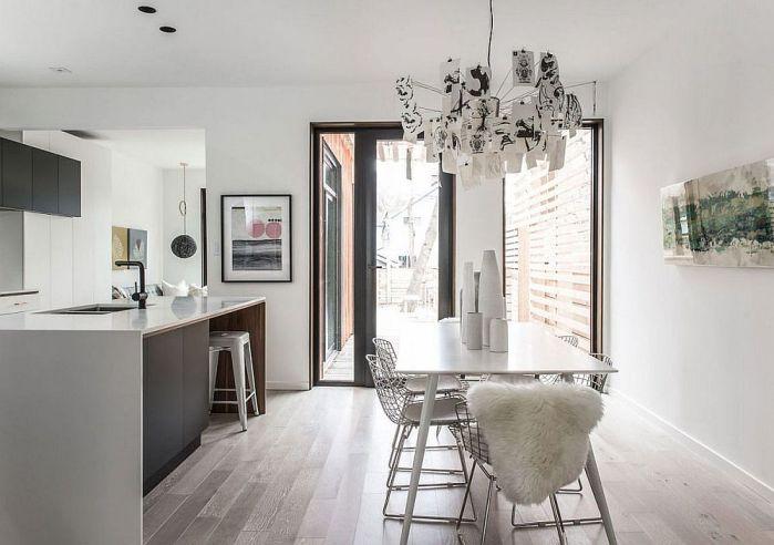 Décorer une salle à manger en blanc et la rendre lumineuse et tendance 3