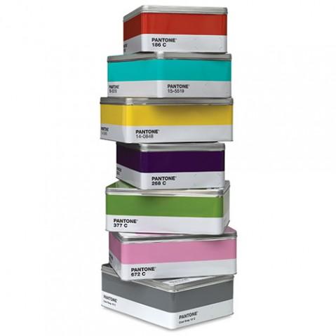 Boîte en métal colorée - PANTONE