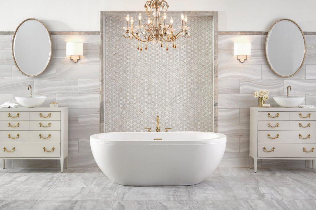 Faux Wood Bathtub