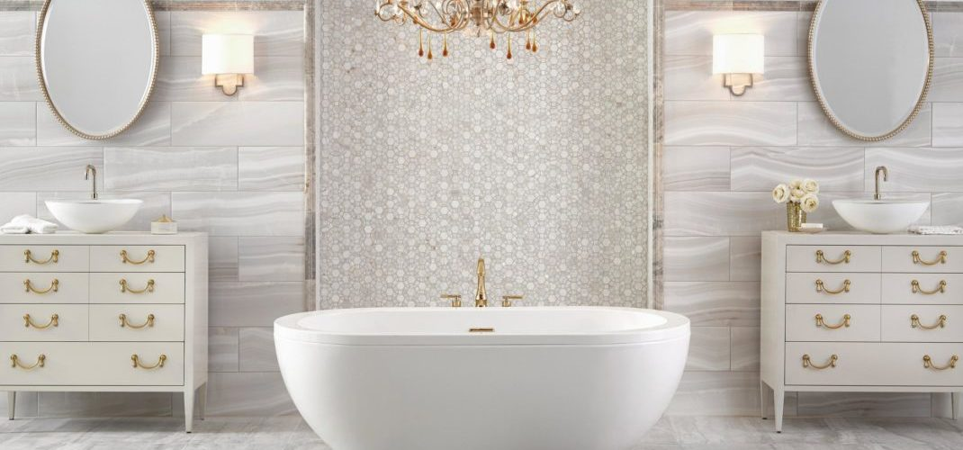 Tendances déco 2019 pour les salles de bain et les salles d\'eau