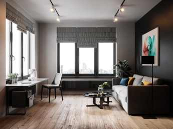 Visite d'un appartement au style glamour moderne sophistiqué 15