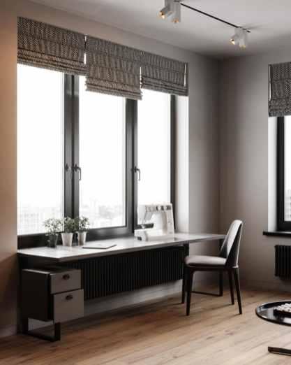 Visite d'un appartement au style glamour moderne sophistiqué 18