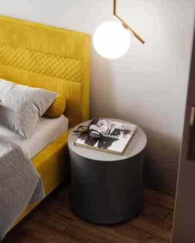 Visite d'un appartement au style glamour moderne sophistiqué 21