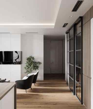 Visite d'un appartement au style glamour moderne sophistiqué 3