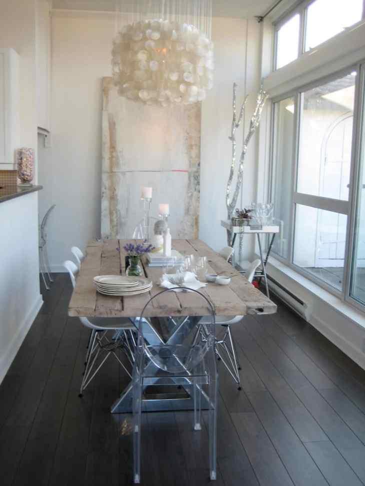 Des salles à manger minimalistes à la décoration revigorante 10