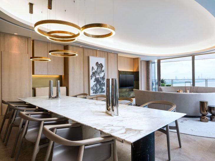 Des salles à manger minimalistes à la décoration revigorante 2