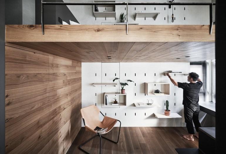 Gagner de la place dans un petit appartement grâce à des meubles multifonctionnels 7