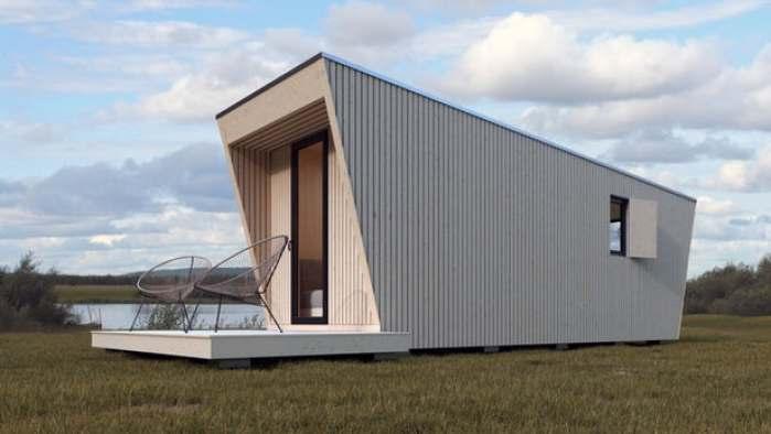 In Tenta dévoile DROP Box N-240, une minuscule maison transportable