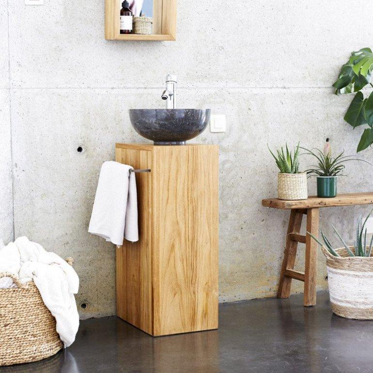 Tendance bois 10 salles de bains utilisant du bois naturel 1
