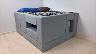 différentes configurations canapé