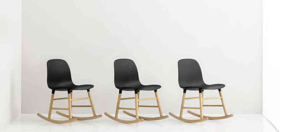 Rocking chair design Form by Simon Legald