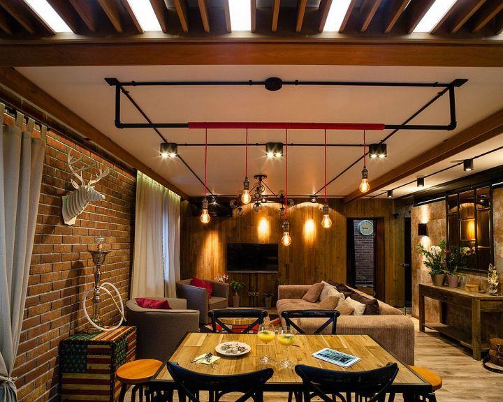L'ampoule Edison dans le salon 4