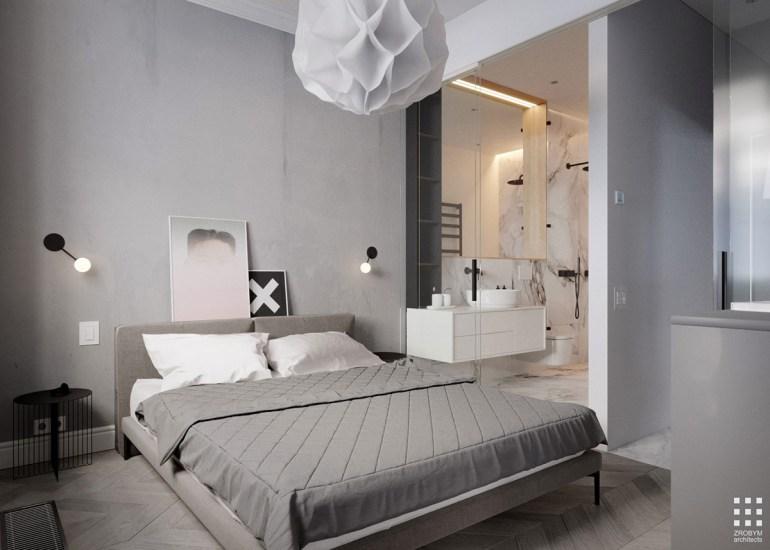 La chambre et la salle de bain 1