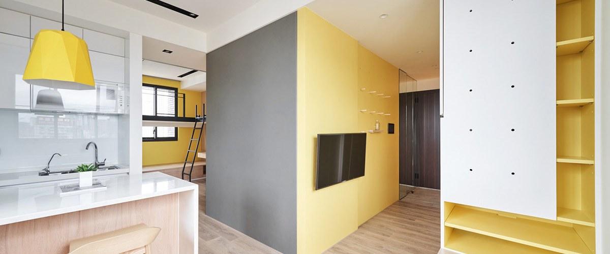 Solutions d'économie d'espace pour des petits intérieurs aérés 3