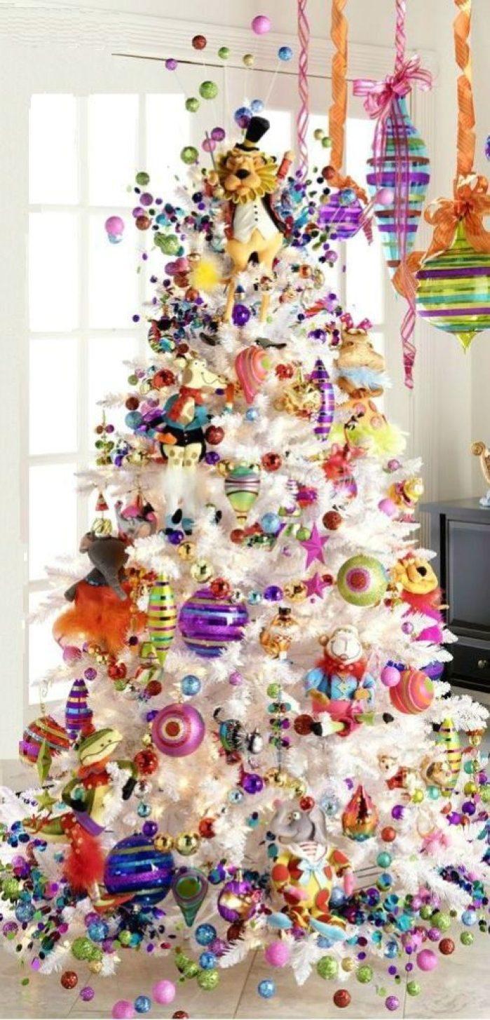 sapin couleurs de Noël 2020