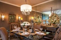 21 idées pour décorer votre salle à manger à Noël avec une touche festive 3