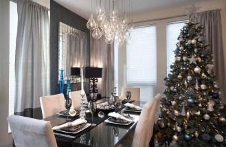 Décorer votre salle à manger à Noël de façon gai et moderne 1