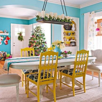 Décorer votre salle à manger à Noël de façon gai et moderne 5
