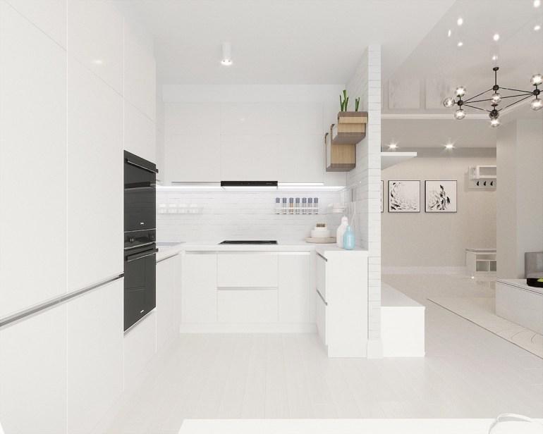 Des cuisines minimalistes sombres 1