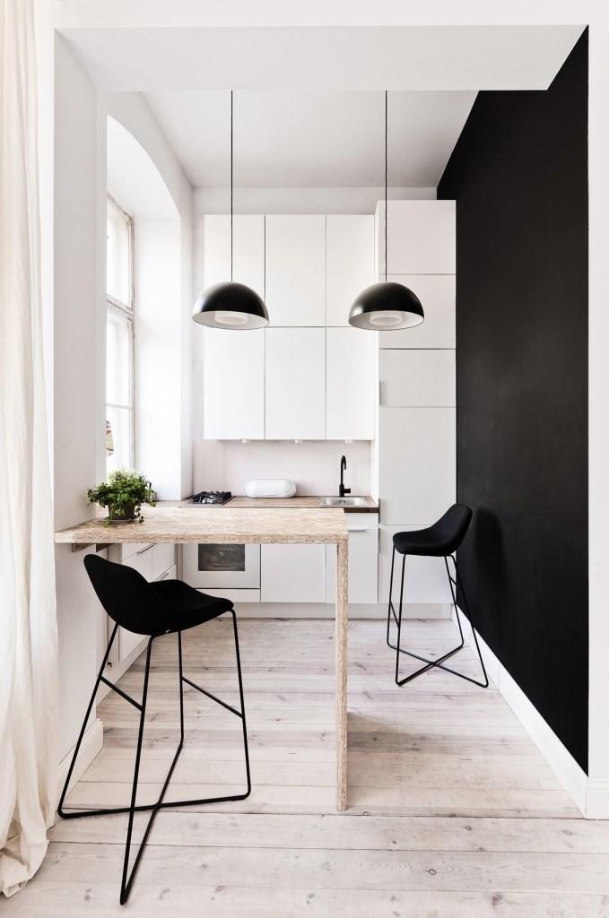 Les cuisines minimalistes ne sont pas forcément très grandes 1
