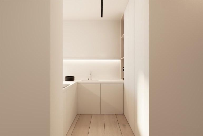 Les cuisines minimalistes ne sont pas forcément très grandes 2