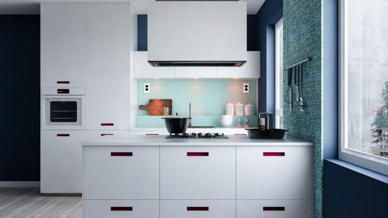 Les cuisines minimalistes ne sont pas forcément très grandes
