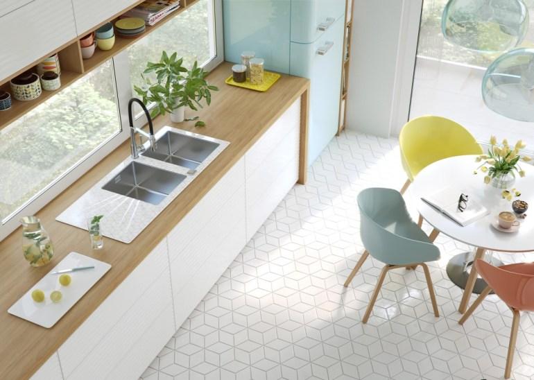 Les meubles et objets dans les cuisines minimalistes